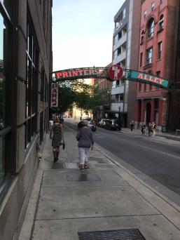 Branded alleyway!