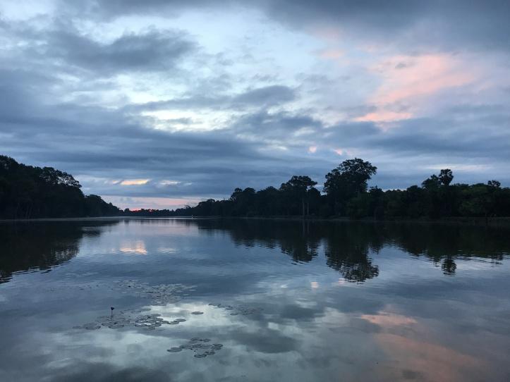 Angkor Wat Sunrise - by Christy Michalak