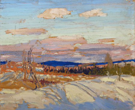 Tom Thomson, Sketch for In Algonquin Park, Fall 1914